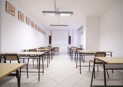scuola Leon Battista Alberti Sanificata
